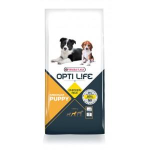 Opti Life Puppy Medium Hundefutter mit viel Huhn&Reis