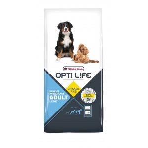 Opti Life Adult Light Medium/Maxi Hundefutter mit Huhn & Reis