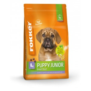 Fokker Puppy/Junior L Hundefutter