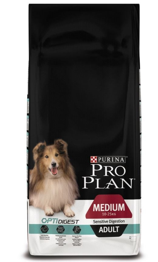 Pro Plan Adult Medium Sensitive Digestion Optidigest Hundefutter