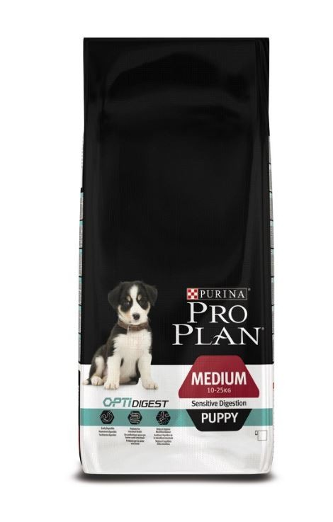 Pro Plan Puppy Medium Sensitive Digestion Optidigest Hundefutter