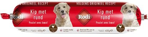 Rodi Wurst Huhn & Rind für den Hund