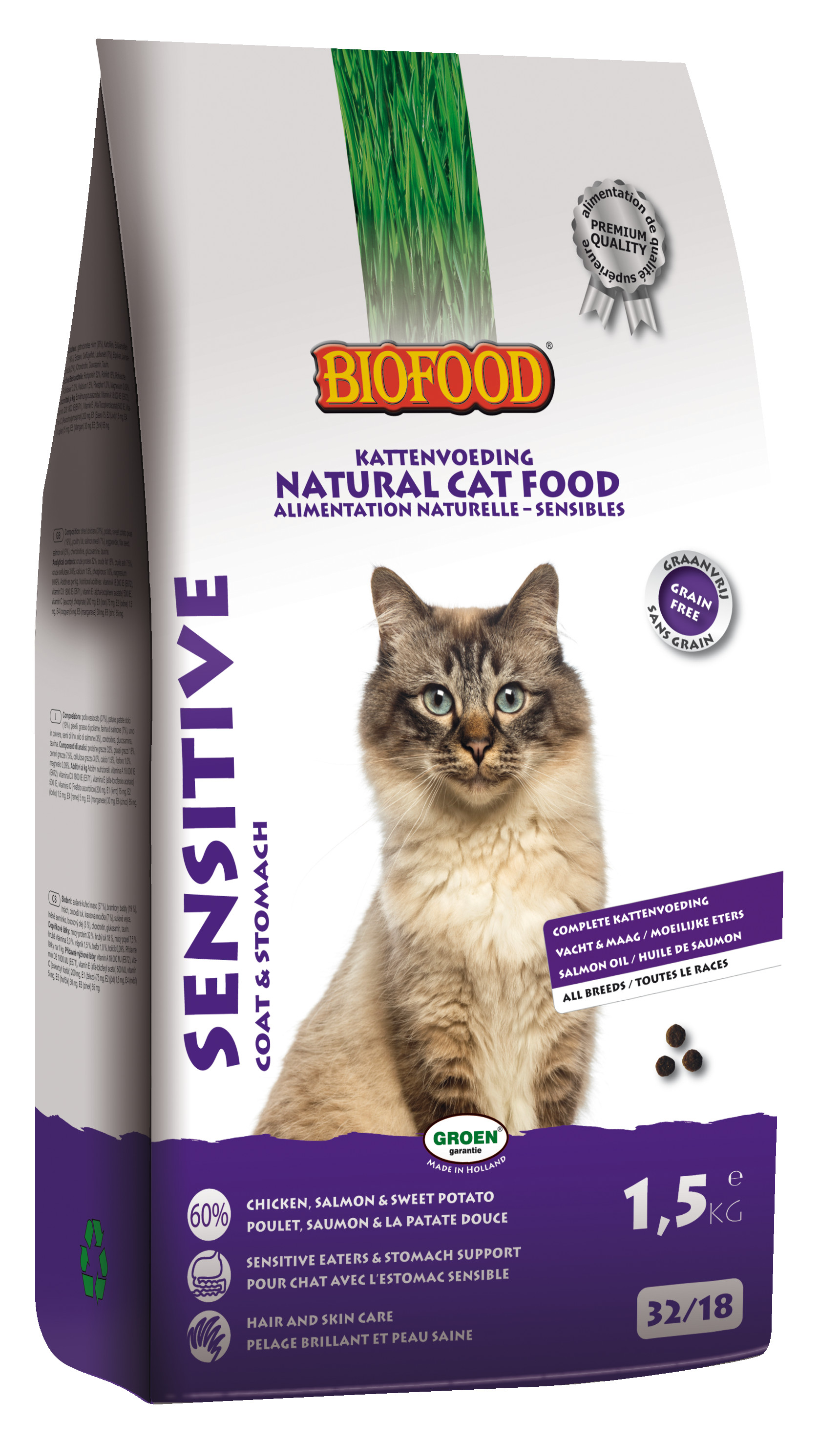 Biofood Sensitive Katzenfutter