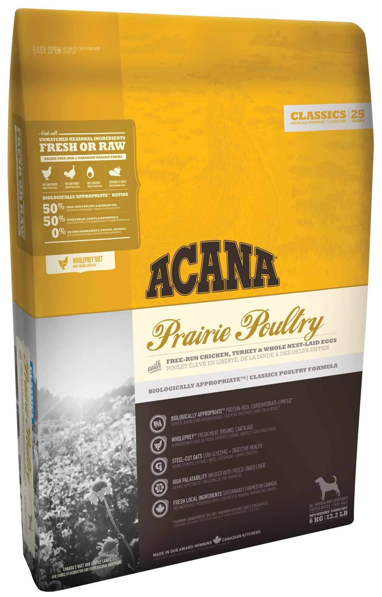 Acana Classics Prairie Poultry Hundefutter