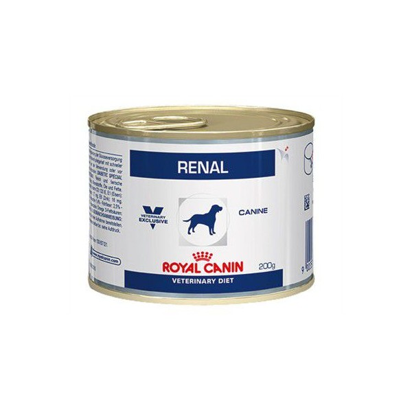 royal canin veterinary diet renal in dosen hundefutter 200g. Black Bedroom Furniture Sets. Home Design Ideas