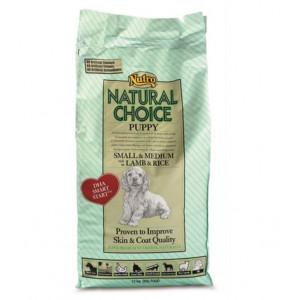 Nutro Choice Puppy Small & Medium Lamm & Reis Hundefutter