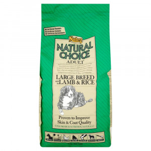 Nutro Choice Adult Large Breed Lamm & Reis Hundefutter