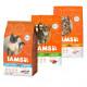 Iams Kombi-Packung Fisch/Lamm/Huhn