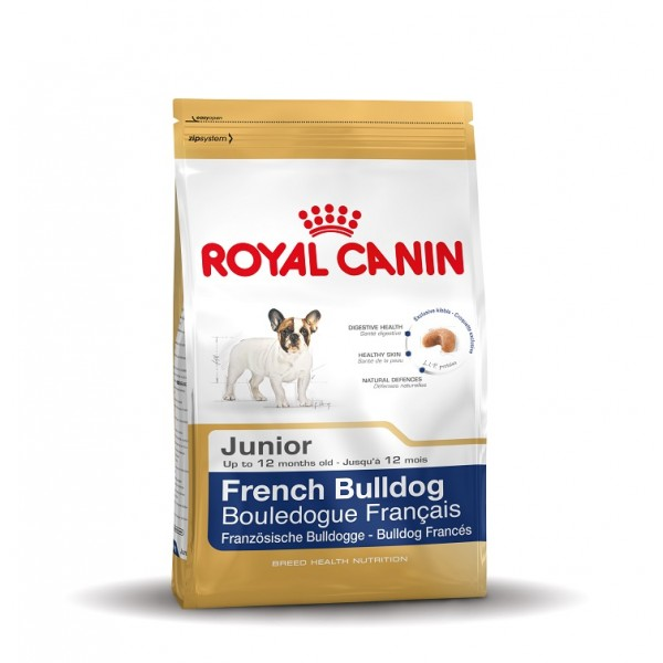 royal canin junior franz sische bulldogge 30 hundefutter. Black Bedroom Furniture Sets. Home Design Ideas
