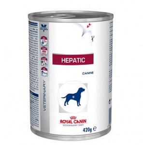 Royal Canin Veterinary Diet Hepatic Hundefutter (Dosen) 420g