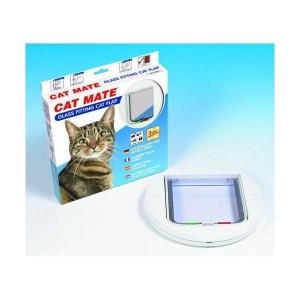 Cat Mate 210 Katzenklappe Weiß