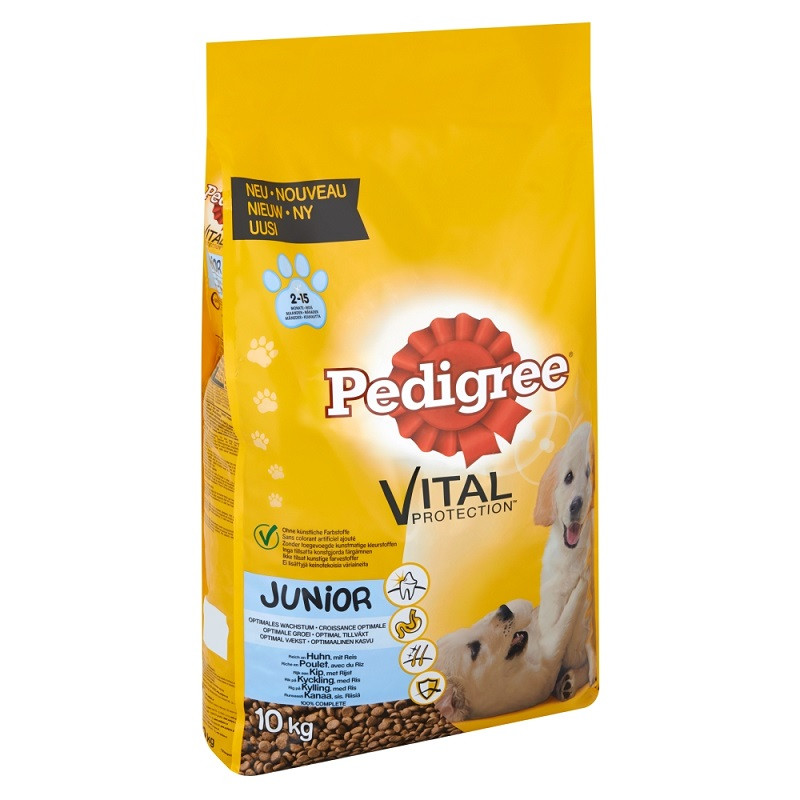 Pedigree Junior Hundefutter