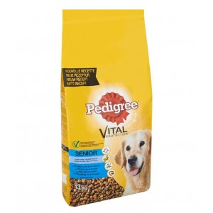 Pedigree Senior 8+ Huhn Hundefutter