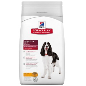 Hill's Adult Advanced Fitness Medium Huhn Hundefutter