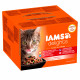 Iams Delights Land & Sea Collection 24x85g Beutel Katzenfutter