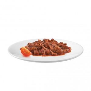 Gourmet Gold Les Cassolettes Duo mit Fleisch in Tomatensoße