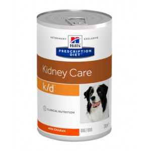 Hill's Prescription Diet K/D Kidney Care Hundefutter in Dosen
