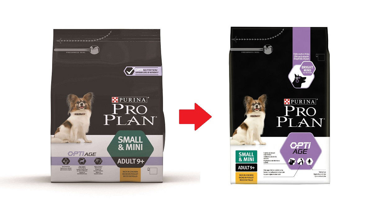 Pro Plan Small & Mini Adult 9+ Hundefutter