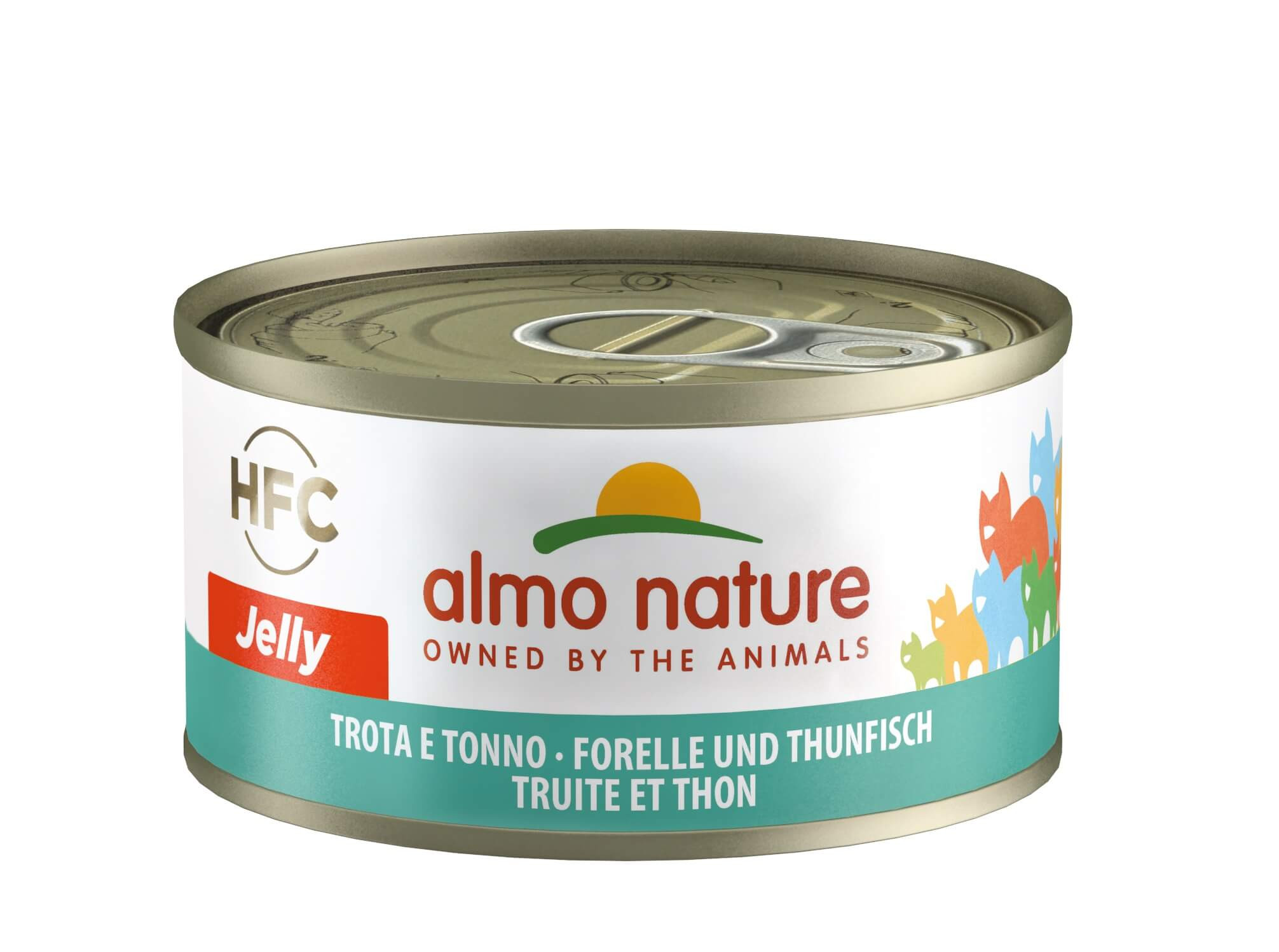 Almo Nature HFC Jelly Forelle in Thunfisch