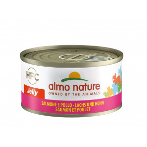 Almo Nature HFC Jelly Lachs & Huhn Katzenfutter