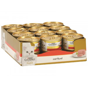 Gourmet Gold Mousse Rind Katzenfutter