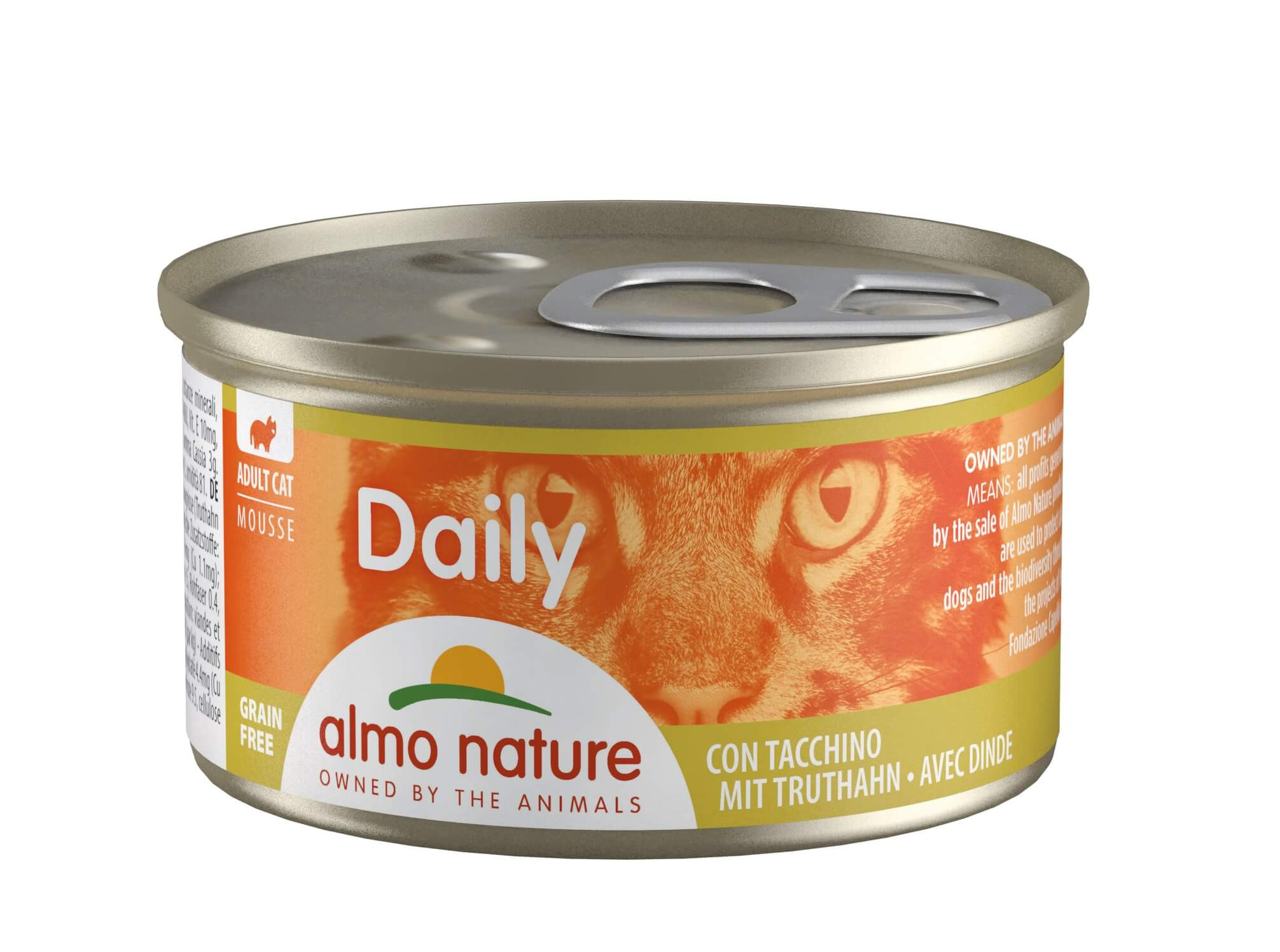 Almo Nature Daily Mousse mit  Truthahn  85 Gramm