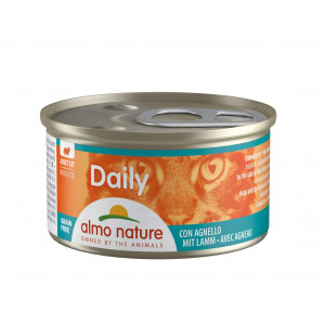 Almo Nature Daily Mousse mit Lamm 85 Gramm