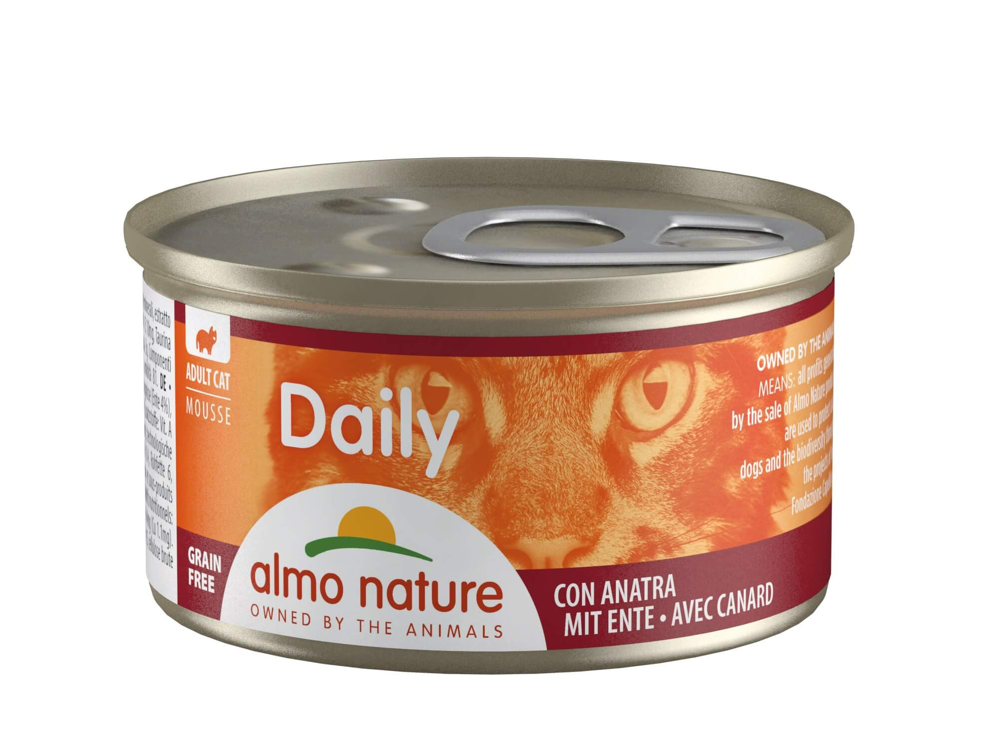 Almo Nature Daily Mousse mit Ente