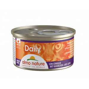 Almo Nature Daily Mousse mit Kaninchen 85 Gramm