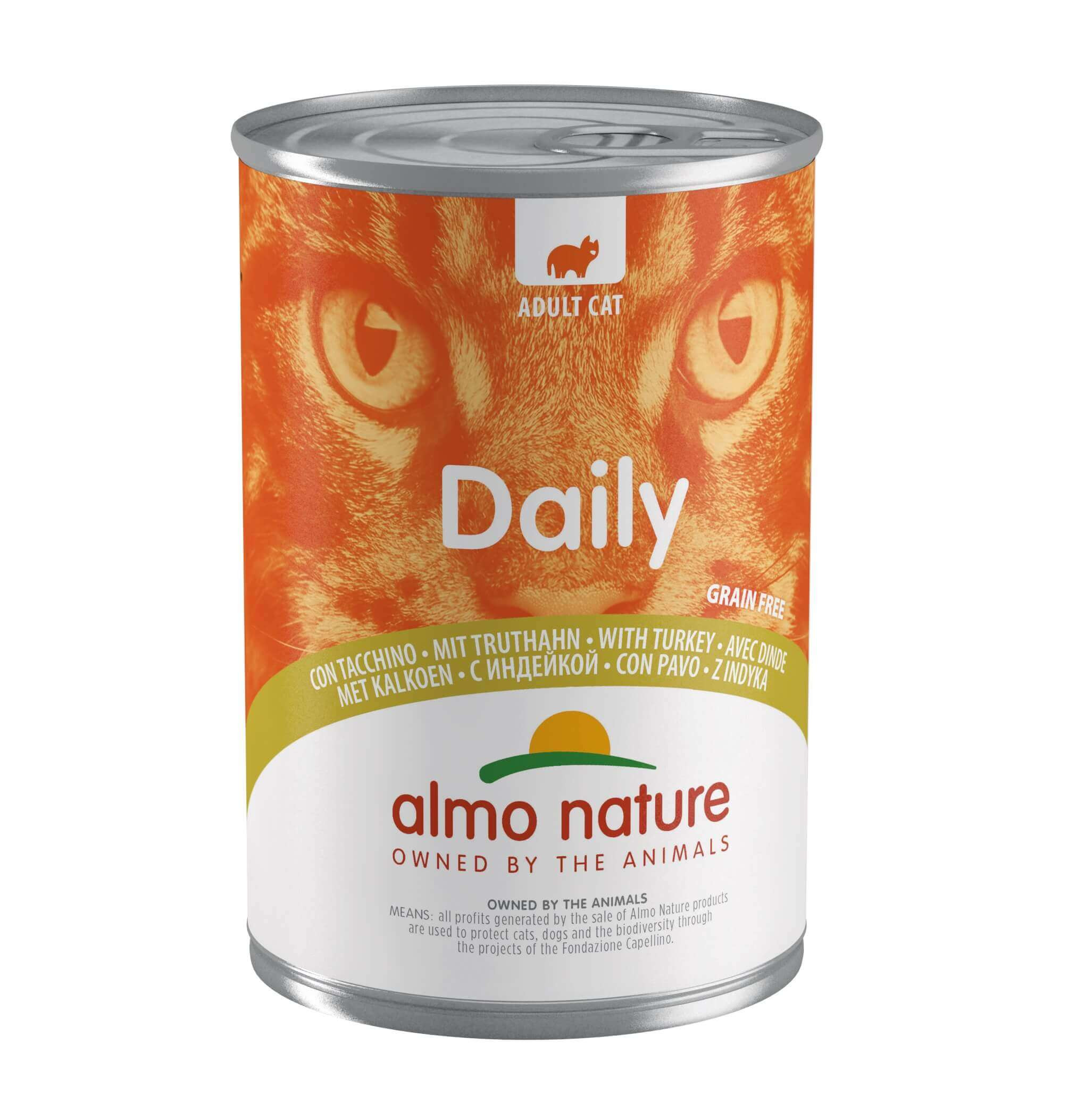 Almo Nature Daily Truthahn 400 Gramm