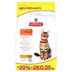 Hill's Optimal Care Adult Kip Kattenvoer