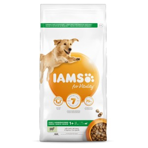 Iams for Vitality Adult Large Lam hondenvoer