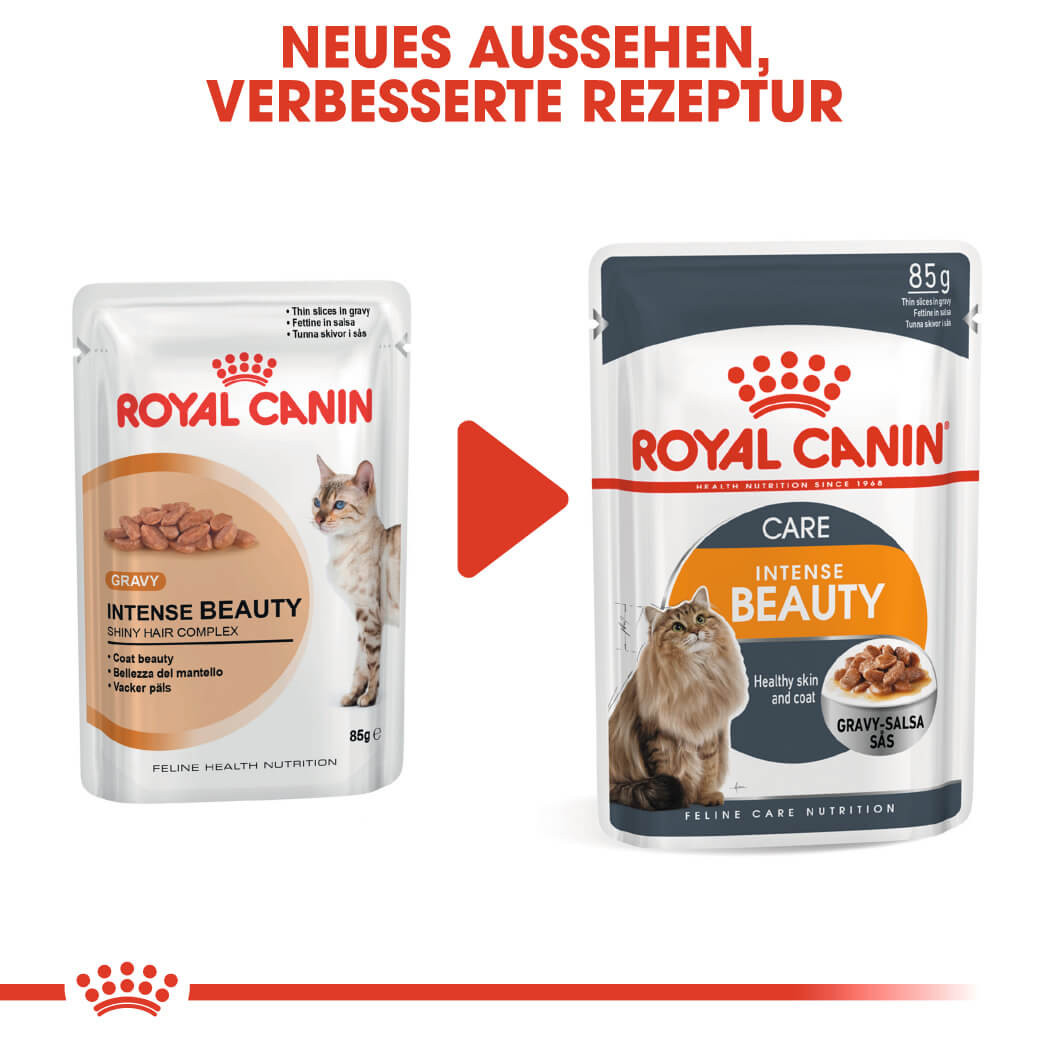 Royal Canin Pouch Intense Beauty Katzenfutter x12
