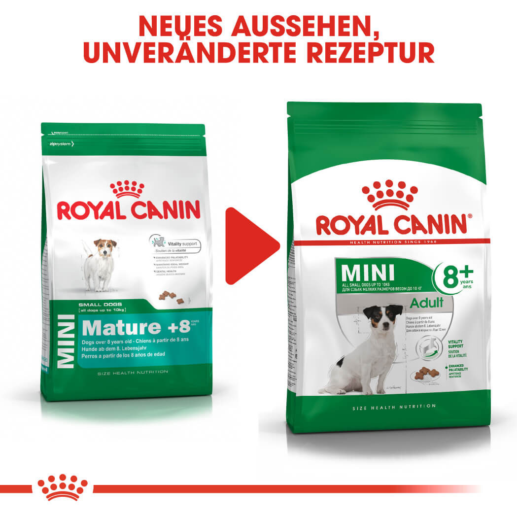 Royal Canin Mini Adult 8+ Hundefutter