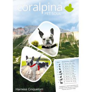 Coralpina Cortina hondentuig rood