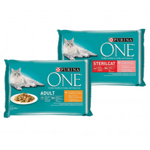 Purina One Combipack Pouch 85g kattenvoer