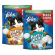 Felix Party Mix Original + Seaside Katzensnacks (2x200g)