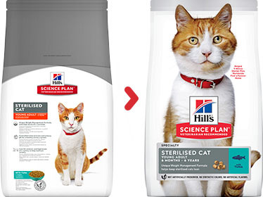 Hill's Sterilised Young Adult Tonijn kattenvoer
