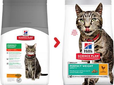 Hill's Adult Perfect Weight Huhn Katzenfutter