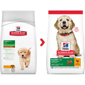 Hill's Puppy Healthy Development Large Breed Huhn Hundefutter