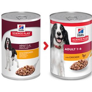 Hill's Adult Huhn (in Dosen) Hundefutter