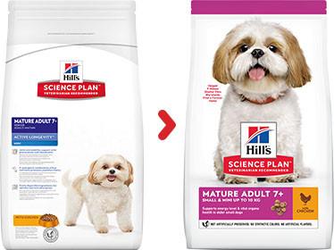 Hill's Mature Adult 7+ Small & Mini Huhn Hundefutter