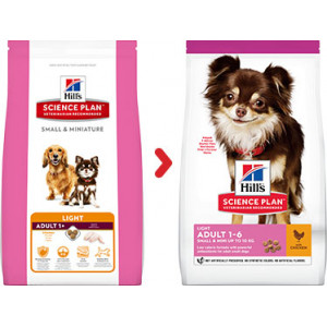 Hill's Adult Small & Mini Light Hundefutter