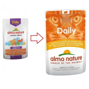 Almo Nature Daily Huhn & Lachs 70 Gramm