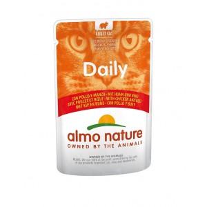 Almo Nature Daily Huhn & Rindfleisch 70 Gramm