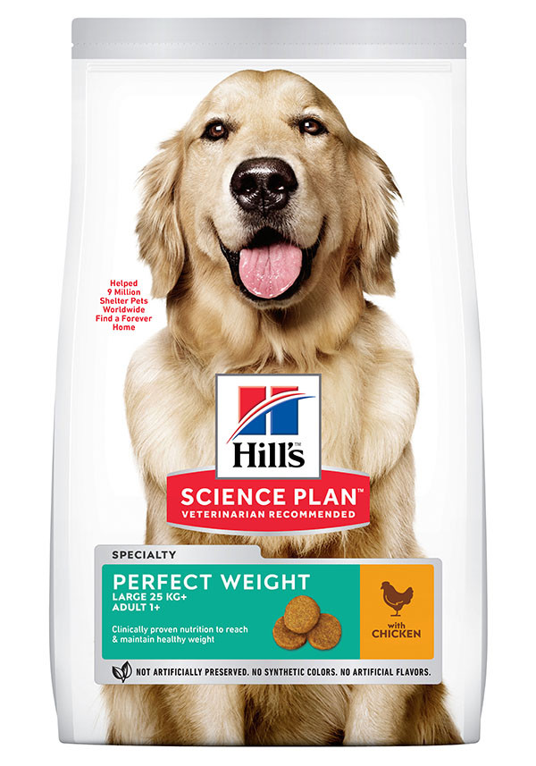 Hill's Adult Perfect Weight Large Breed Huhn Hundefutter