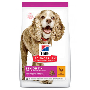 Hill's Senior 11+  Small & Mini Huhn Hundefutter