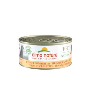 Almo Nature HFC Thunfisch und Garnelen  Katzenfuttter
