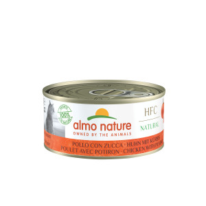 Almo Nature HFC Huhn mit Kürbis Katzenfutter