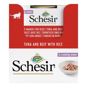 Schesir Zuivere tonijn en rund met rijst